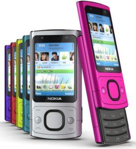 ĐIện Thoại Nokia 6700 Slide